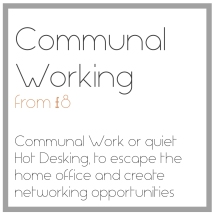 The Cotswold Wedding Studio communal work and hot desking